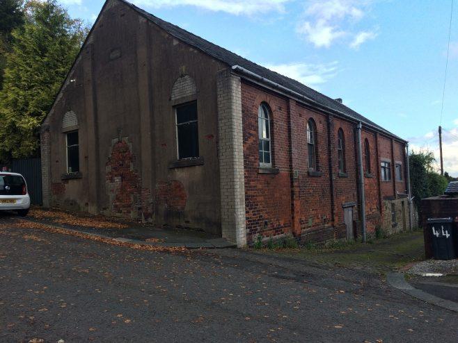 Darwen Sandhills Primitive Methodist school-chapel, Lark Street. | David Foster October 2020