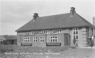 Sunday School built across from chapel (1920's)
