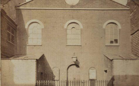 Winchester Parchment Street Primitive Methodist chapel 1853