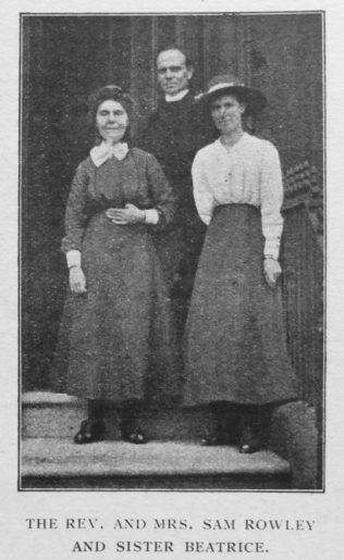Outside Bradford Central Hall - Primitive Methodist Magazine 1919