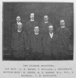 Herbert is front left on this picture from the Primitive Methodist Magazine 1920