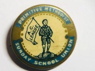 Primitive Methodist Sunday School Badge
