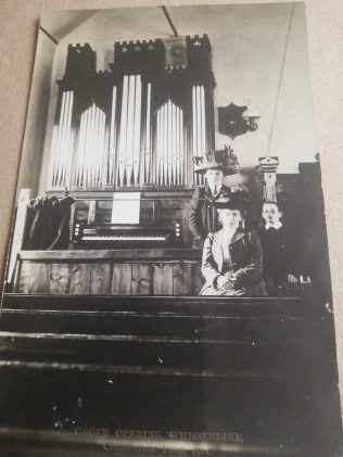 Opening of Organ: Whissendine coronation year 1911   Supplied by Martin Warsop