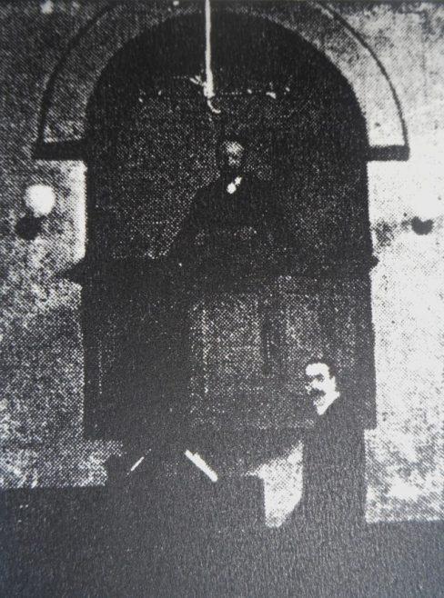 Sutton in Ashfield; Pulpit in a Wall