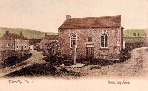Thoralby Primitive Methodist chapel