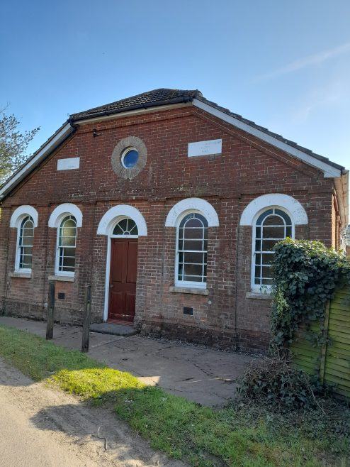 The former Dilham Primitive Methodist chapel | provided by Shena Cumiing 2021
