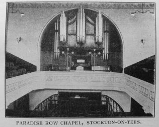 Paradise Row, Stockton on Tees