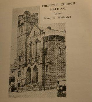 Halifax Ebenezer PM Church, St. James Road | Supplied by Steven Wild