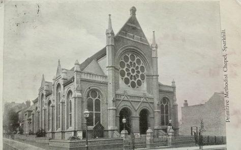 Birmingham Sparkhill Primitive Methodist Church