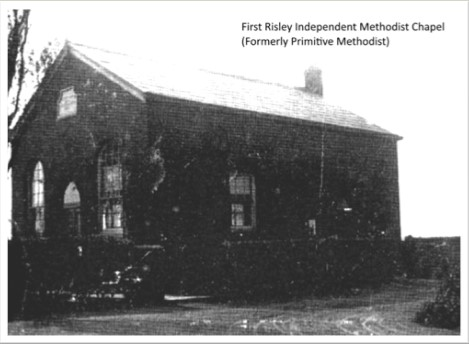first Risley Primitive Methodist chapel | provided by Rex Houghton