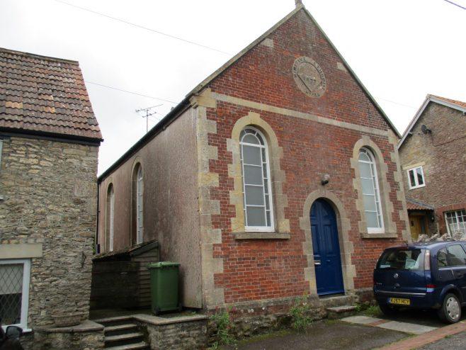 Wanstrow Primitive Methodist chapel; corner view | Christopher Hill August 2021