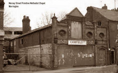 Warrington Mersey Street Primitive Methodist chapel