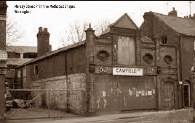 Warrington Mersey Street Primitive Methodist chapel   provided by Alan Nixon