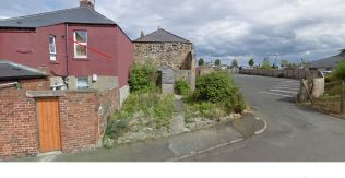 1868 Allotment Primitive Methodist Chapel in centre of image | John Walley 2020