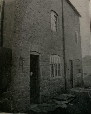 the first Primitive Methodist preaching place in Hucknall