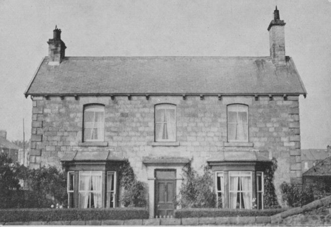 Middleton in Teesdale PM Manse   Supplied by Judith Rogers from postcards collected by Rev. Alexander McDonald - August 2021