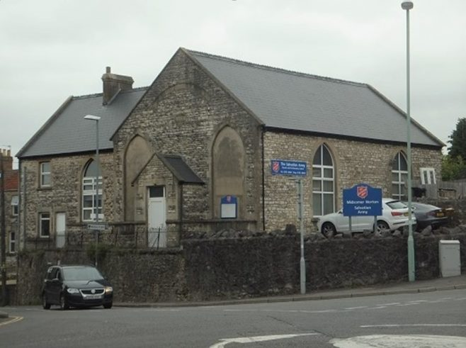 former Stones Cross Primitive Methodist chapel in Midsomer Norton, now in use by the Salvation Army. | Jeff Parsons 2021