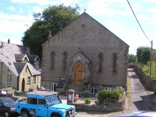 The front elevation of the 1861 chapel   David Noble