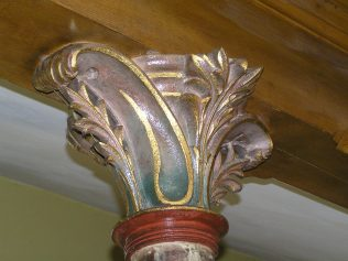 Column head detail (August 2013) | David Noble