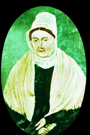 Elizabeth Evans (1775-1849) | Englesea Brook Museum