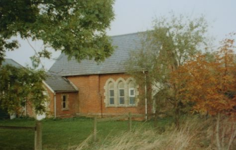 Meesden Primitive Methodist chapel