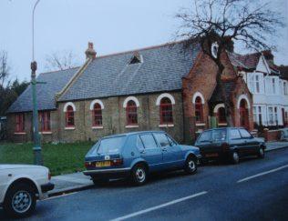 Southend Branksome Road Primitive Methodist chapel | Keith Guyler 1994