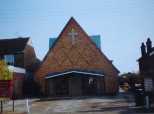 2nd church, built 1963 | Keith Guyler, 1992