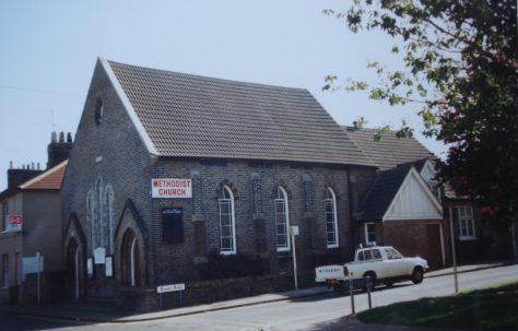 Chelmsford Hall Street Primitive Methodist Chapel