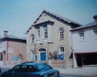 Maldon High Street Wesleyan Methodist chapel | Keith Guyler 1988