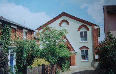 Colchester; Artillery Street Primitive Methodist Chapel
