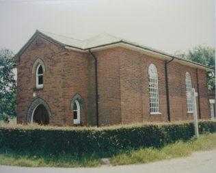 Boxted Primitive Methodist chapel | Keith Guyler 1986