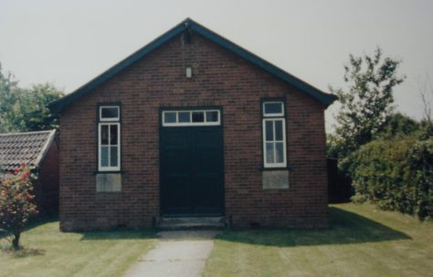 Eight Ash Green Primitive Methodist Chapel