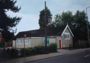 Lexden Assemblies of God chapel - originally mis-identified by Keith Guyler as the former Primitive Methodist chapel | Keith Guyler 1994
