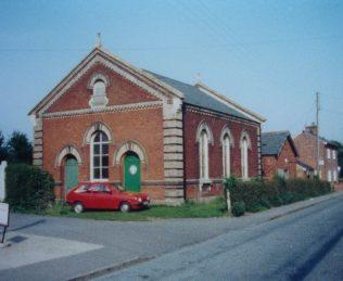 Bradfield Primitive Methodist chapel | Keith Guyler 1988