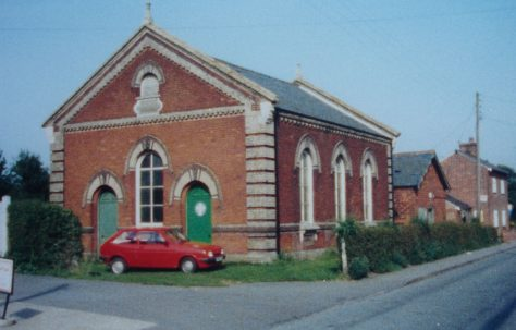 Bradfield Primitive Methodist chapel