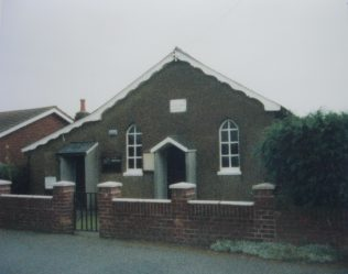 Little Bromley Primitive Methodist chapel | Keith Guyler 1988