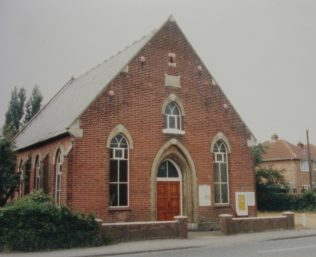 Kirby Cross Zion Primitive Methodist chapel | Keith Guyler 1988