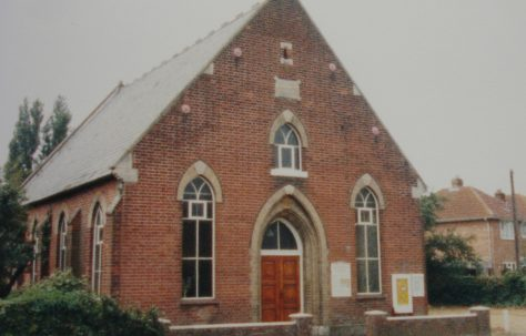 Kirby Cross Zion Primitive Methodist chapel