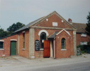 Thorpe le Soken Primitive Methodist chapel | Keith Guyler 1988