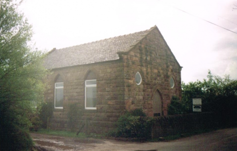 Biddulph Park Primitive Methodist chapel