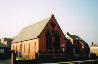 1892 Ruabon Primitive Methodist chapel in Henry Street, as it was in 2003 | Keith Guyler 2003
