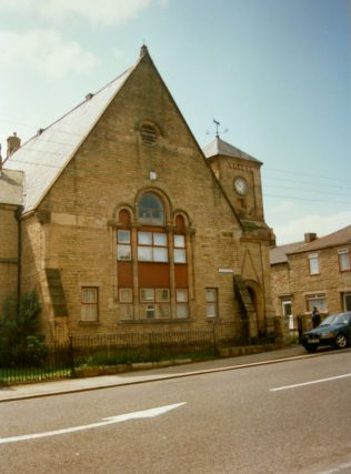 former United Reform chapel in Tow Law - identified by the photographer, Keith Guyler as the Primitive Methodist chapel | Keith Guyler 1997