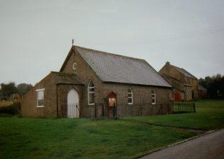 1867  Boldron Primitive Methodist Chapel in 1998   Keith Guyler 1998