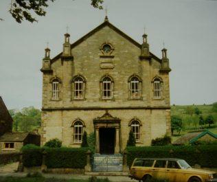 1872 Middleton in Teesdale Bourne Primitive Methodist Chapel   in 1991   Keith Guyler 1991