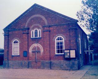 1860 Lingwood Primitive Methodist Church in 1986 | Keith Guyler 1986
