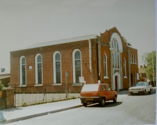 Ipswich Rope Walk Primitive Methodist chapel | Keith Guyler 1990