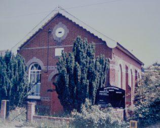 Polstead Heath Primitive Methodist chapel   Keith Guyler 1986