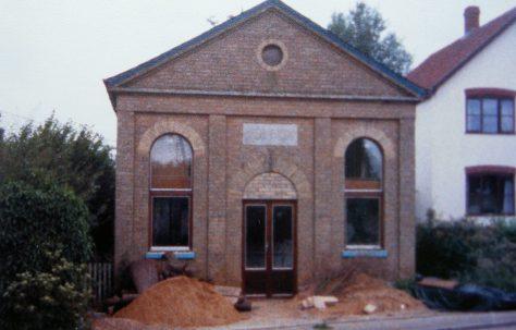 Ufford Upper Street Primitive Methodist chapel