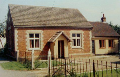 Honington Primitive Methodist chapel