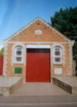 Ixworth Primitive Methodist chapel | Keith Guyler 2000